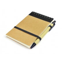 Notebook with pen MILO, 70 pages