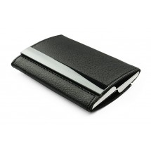 Two-sided business card holder