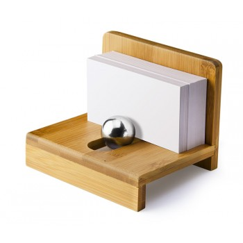 Bamboo name card holder
