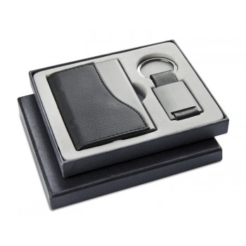 Gift set (name card case, key chain)