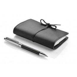 Gift set - notepad, ball pen black