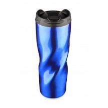 Travel mug PIROT 500 ml blue