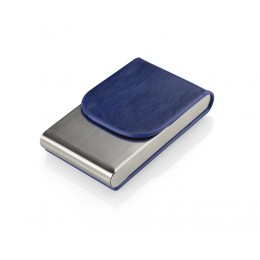 Business card holder LER blue