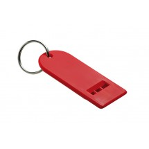 Flat whistle red