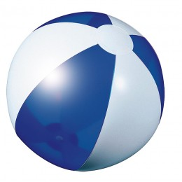 Beach ball blue transparent
