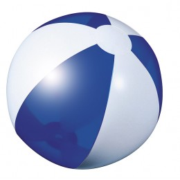 Beach ball dark blue transparent