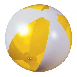 Beach ball yellow transparent