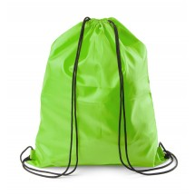 Drawstring bag light green