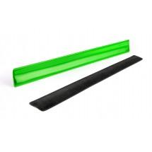 Reflective wristband green