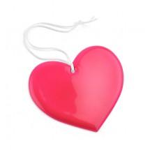 Reflective hanger heart