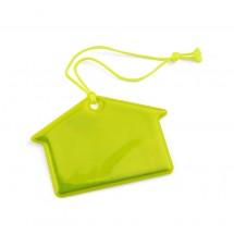 Reflective hanger yellow house