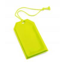 Reflective hanger yellow