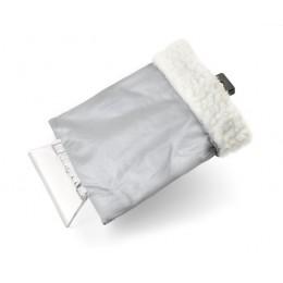 Ice scraper with a glove