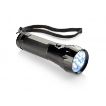 LED flashlight in a pouch