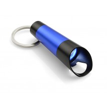Flashlight with bottle opener TUBE blue