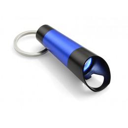 Flashlight with bottle opener TUBE blue