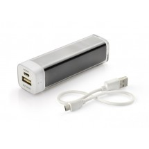Power bank 2600 mAh black