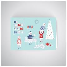 Kalėdinis atvirukas RNO01