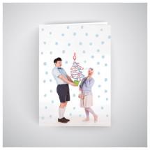 Kalėdinis atvirukas RNO14