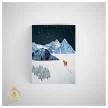 Kalėdinis atvirukas  UV15