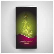 Kalėdinis atvirukas SV008